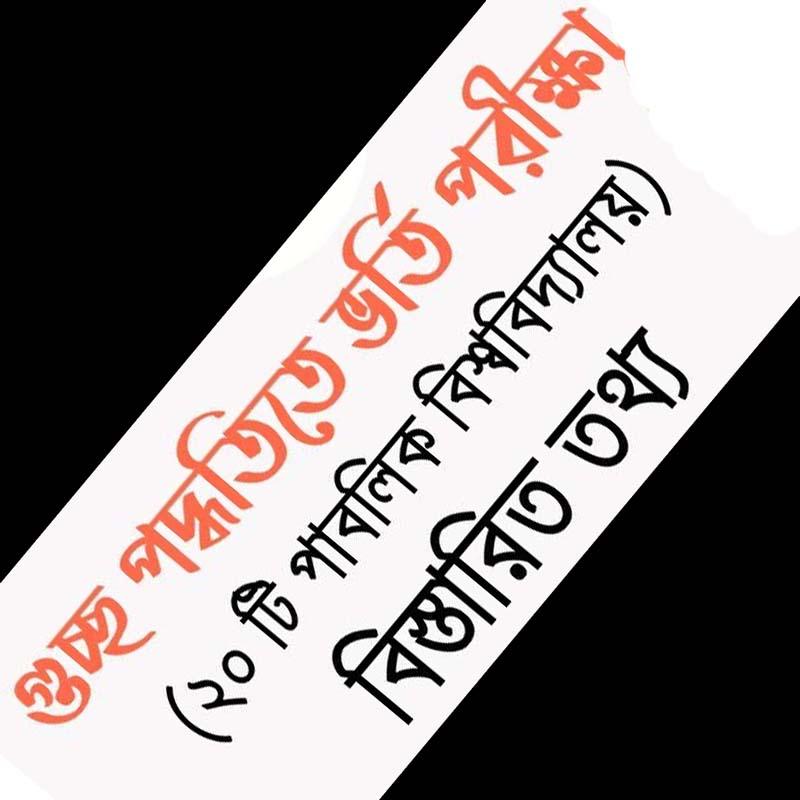 আবেদন গুচ্ছ বিশ্ববিদ্যালয় ২০২০-২১